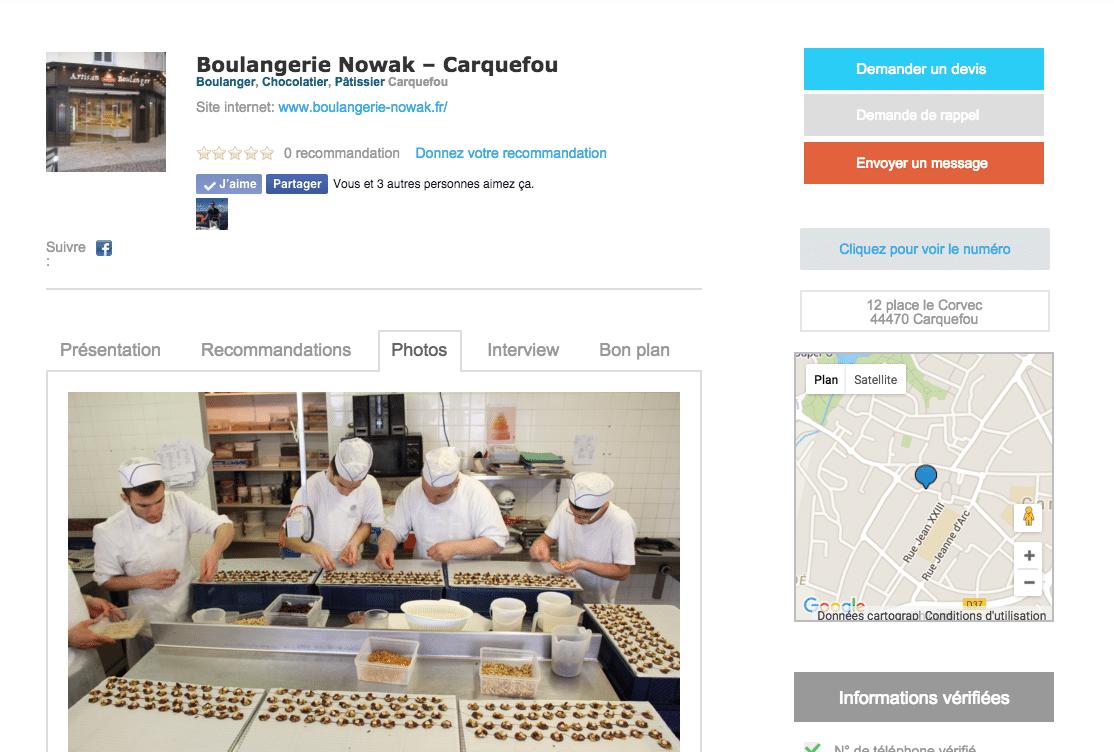 boulangerie carquefou artivisor