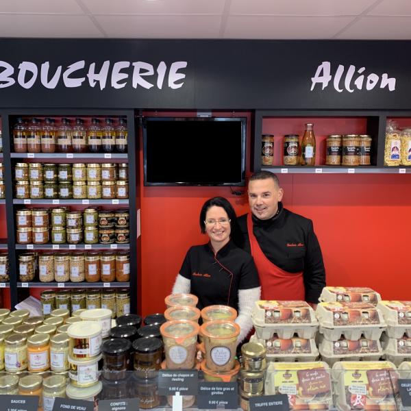Boucherie Allion à Vertou, aux portes de Nantes