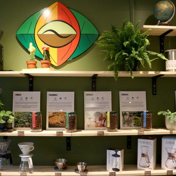 Kultivar Café, torréfacteur à Nantes, place Saint-Félix