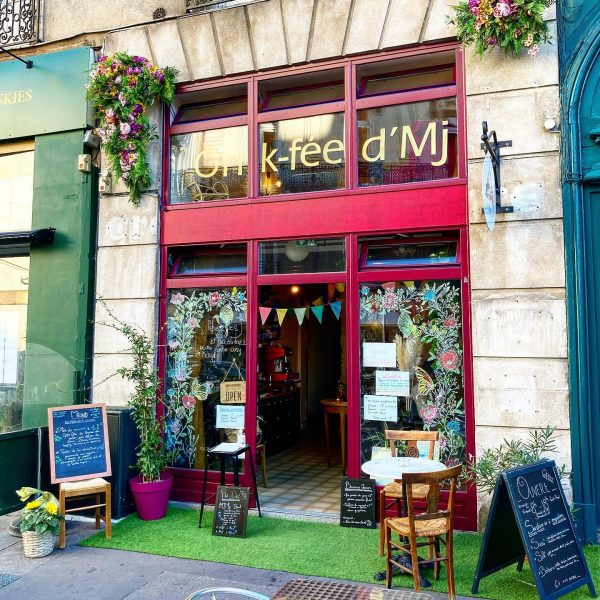 Oh k-fée d'mj, salon de thé et restaurant végétarien à Nantes centre-ville